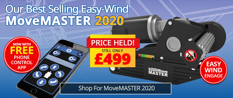 MoveMASTER Caravan Mover - Price Held for 2020
