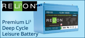 Relion Premium Lithium Ion Leisure Battery