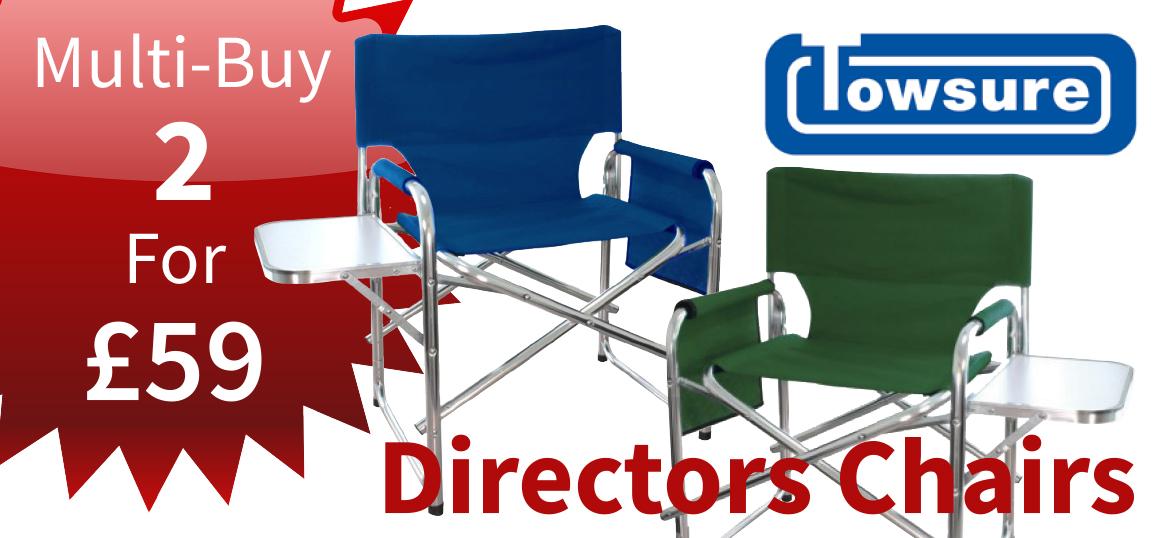 Directors Chair Multi-Buy Deal