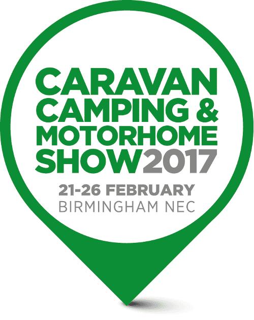 Caravan Camping and Motorhome Show 2017 Pin