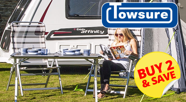 Towsure Camping Chairs - Multibuy Deals