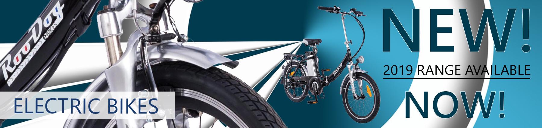 Electric Bikes for Caravan & Camping