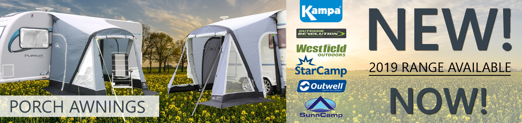 New 2019 Porch Awnings In Stock