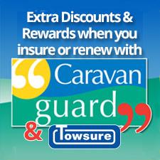 Caravan insurance Offer for Towsure Customers in conjunction with Caravan Guard