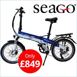 Seago Electric Folding Bike