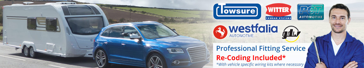 Towing Brackets from top brands including Towsure, Witter, Westfalia, PCT and GDW Towbars