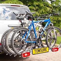 Cycle Carrier on MPV